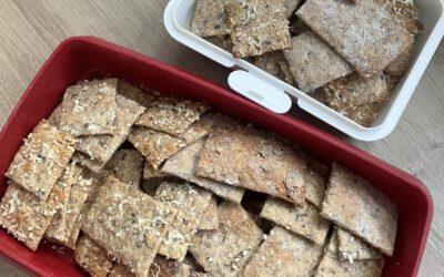 Sauerteig-Cracker
